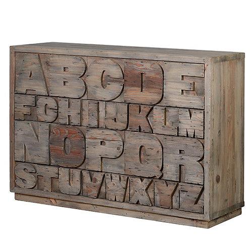 Alphabet Chest Drawers