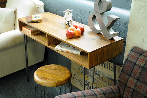 Retro Mango Console Table
