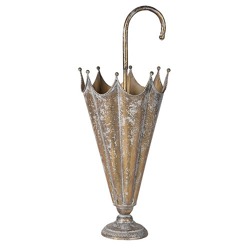 Gold Effect Umbrella Stand