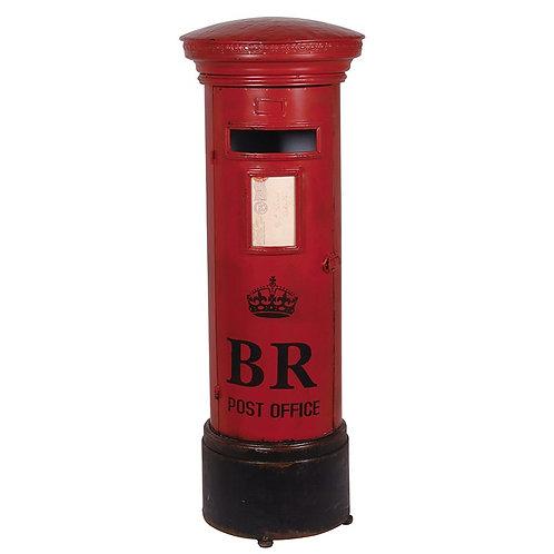 Royal Red Post Box Shelf Unit