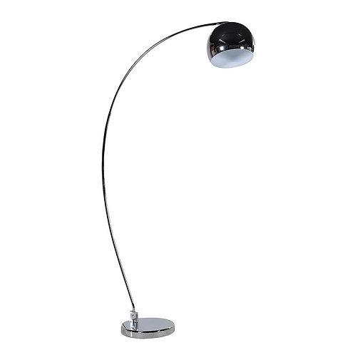 Chrome Curved Floor Lamp