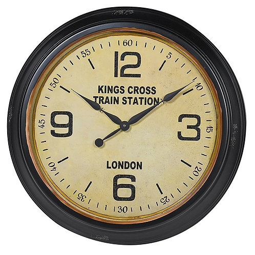 'Kings Cross' Wall Clock
