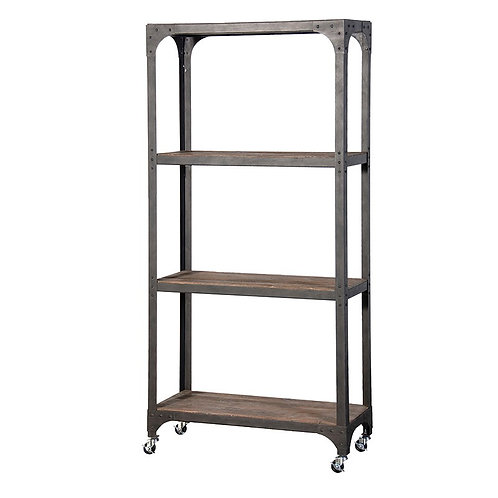3 Tier Shelf Unit on Wheels