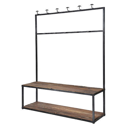 Large Bench & Coat Rack