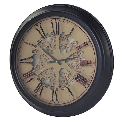 Gears and Mechanisms Wall Clock