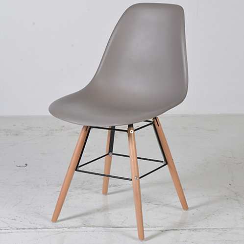 Mocha Moulded Seat Chair