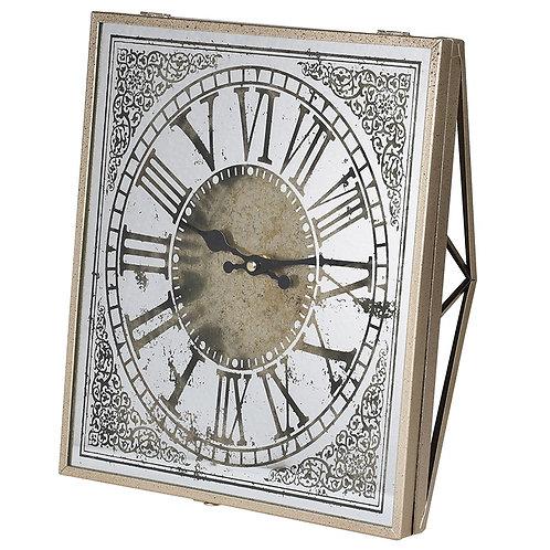 Square Numerals Wall Clock
