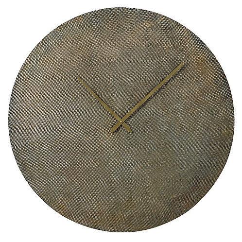Brass Ant.Round Clock