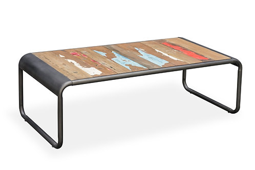 Boat Wood Coffee Table