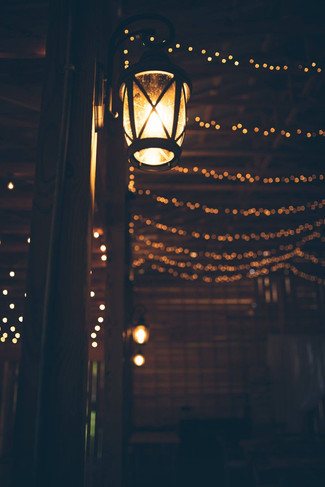 Lights | The Wedding Barn at L'Horne