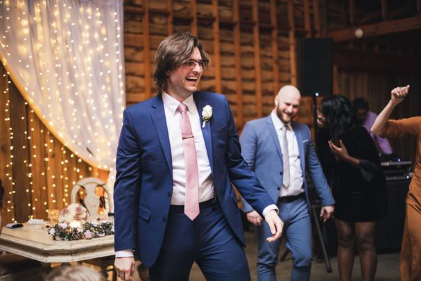Stephen dancing
