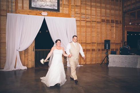 Mr & Mrs Putnam |The Wedding Barn at L'Horne