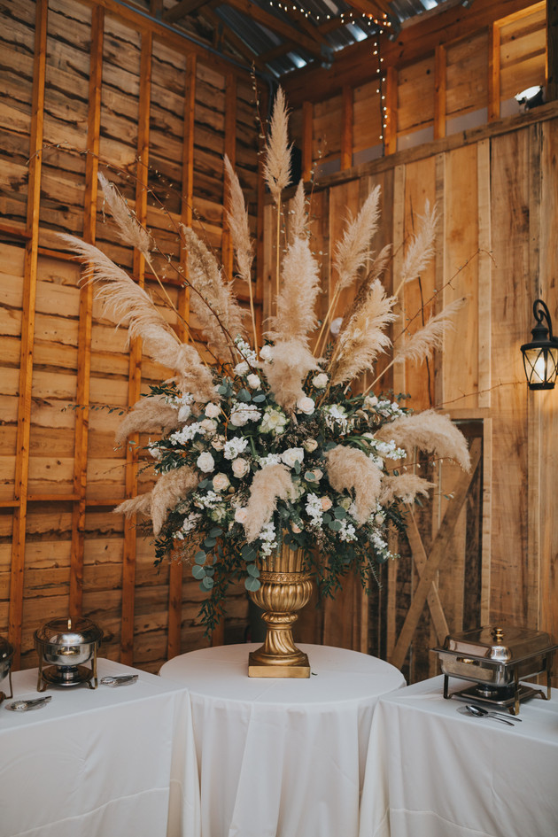 Centerpiece by Southern Floral & Drapes