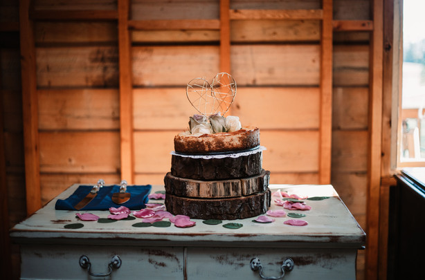 Wedding cake is sweet
