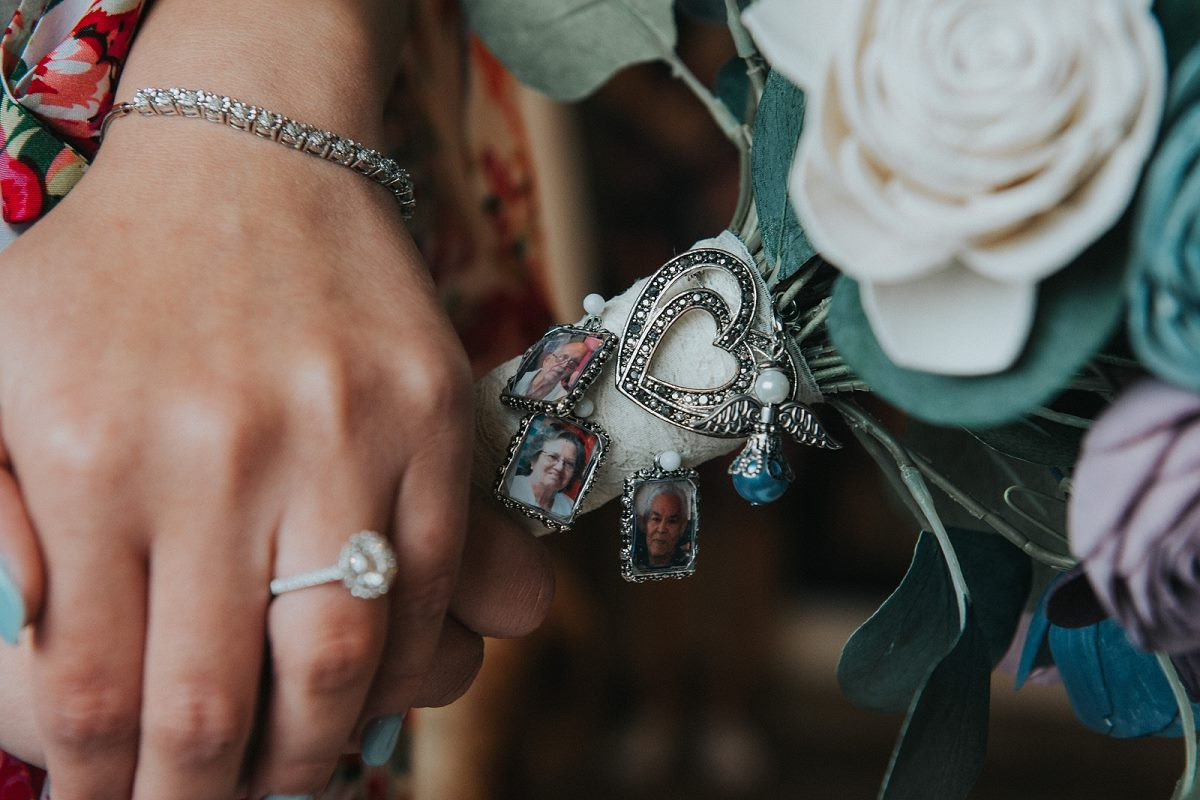 Amanda with lockets on bouquet.jpg