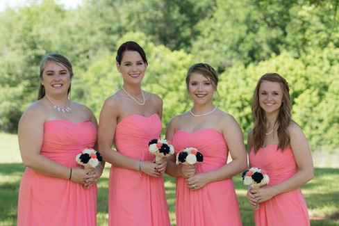 Bridesmaids |The Wedding Barn at L'Horne