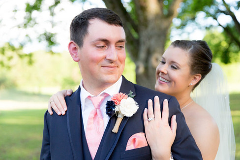 Happy Couple |The Wedding Barn at L'Horne
