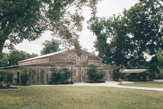 Front of Grand Barn