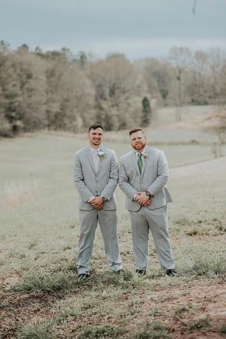 Groom & groomsman