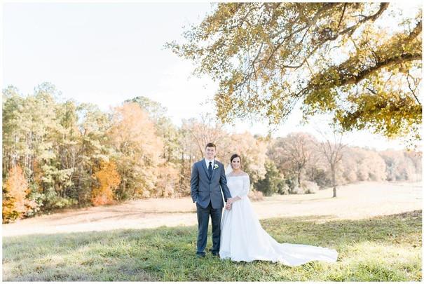 Demi & Casey fall trees