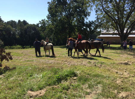 Make-A-Wish Horse Ride Event