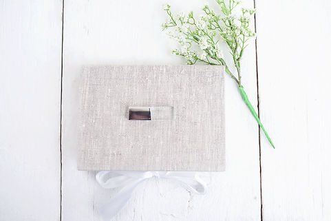 custom photo packages, linen box, jennifer christine photography,newborn,baby,
