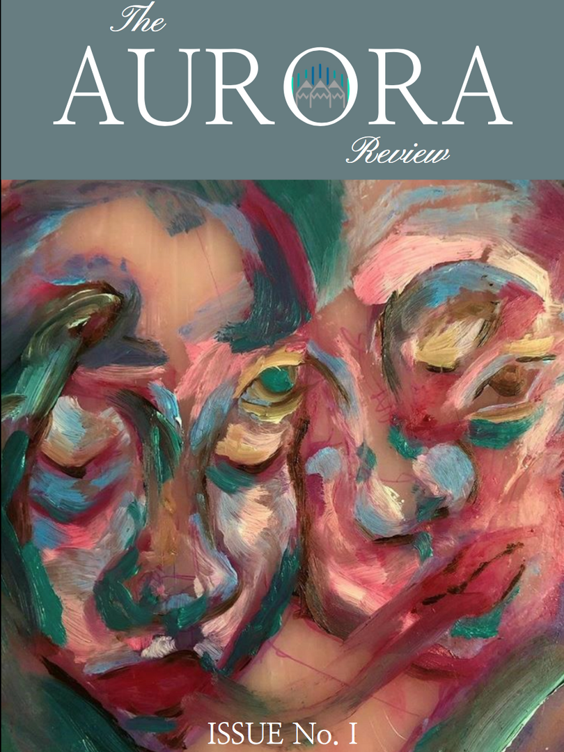 Issue One of The Aurora Review, with cover art by Abigail Jones.