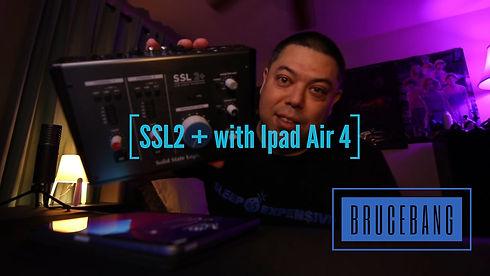SSL2+ with Ipad Air 4 Thumbnail cover.jp