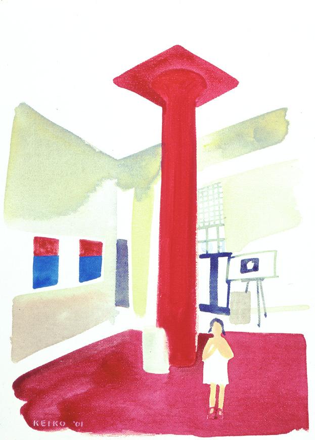 mimi  in filmforum lobby