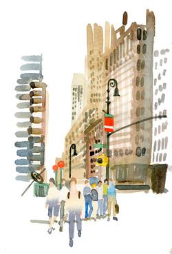 NYC fashion area