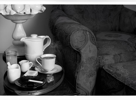 Morning Coffee - A breakfast tray makes 40 years feel like yesterday