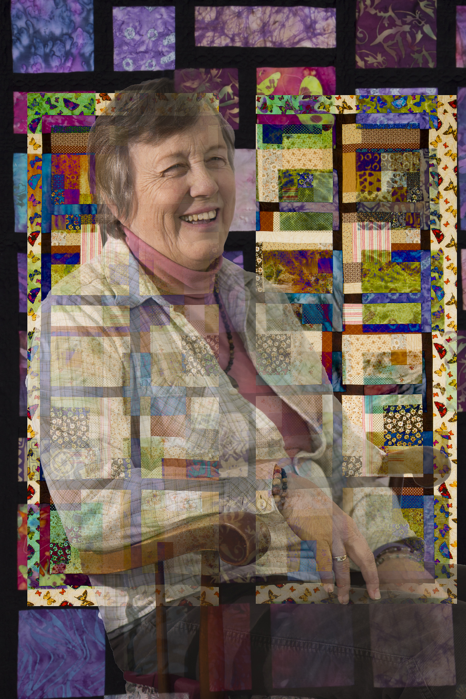 Donna Corcoran, Quilter