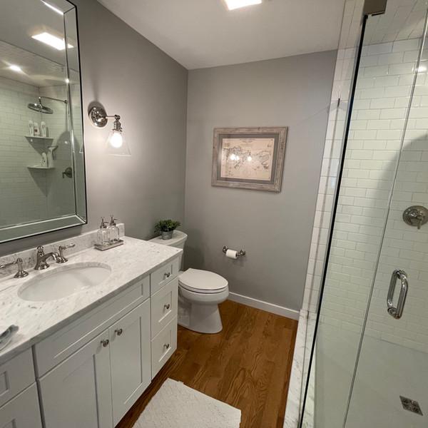 Custom Bathroom Design with shower