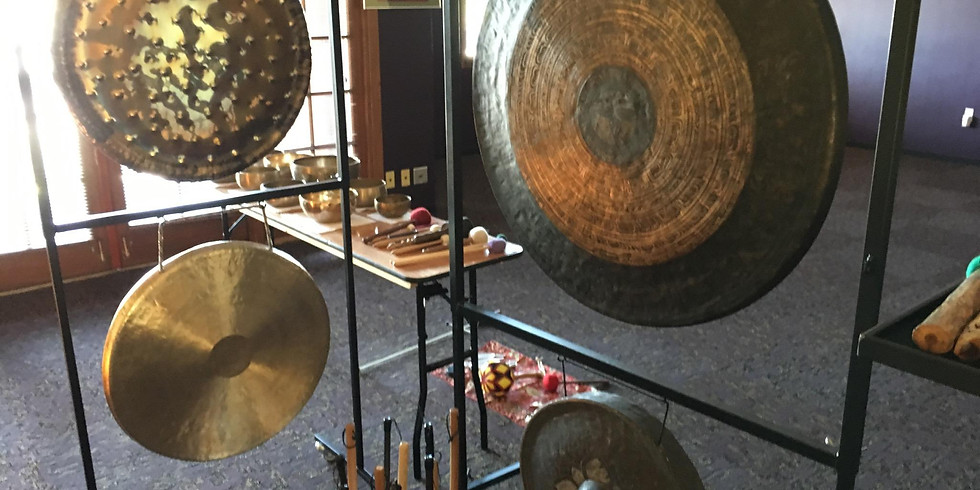 Gong Sound Experience & Energy Healing