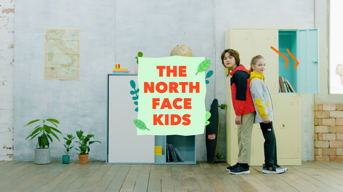 The NorthFace Kids SS