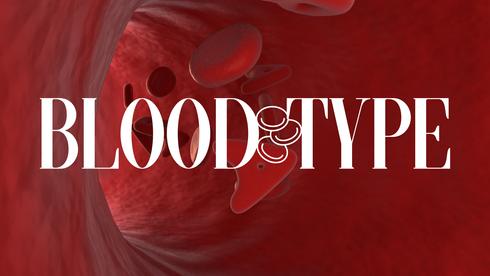 """SB Circle """"Blood Type"""""""