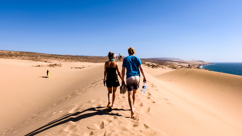 Tamri Sand Dunes
