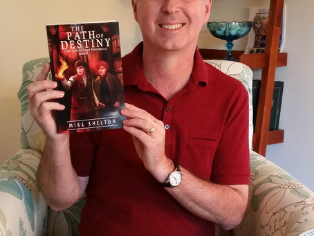 Received proof copy of The Path Of Destiny today!