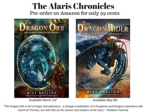 The Dragon Rider, Book 2 of The Alaris Chronicles available for pre-order.
