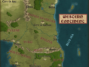 A new Map - Combining two stories together!