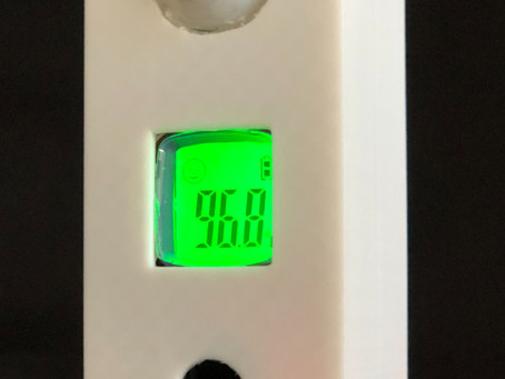 Motion Activated Door Thermometer