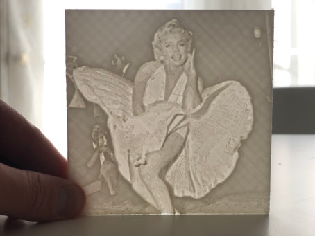3D Printed Lithophanes