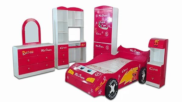 Juego de Dormitorio Modelo Cars