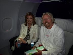 Arriana Huffington/Richard Branson