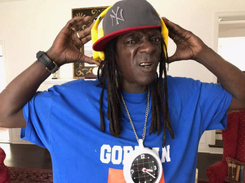 Flava Flav with Vinci Headphones