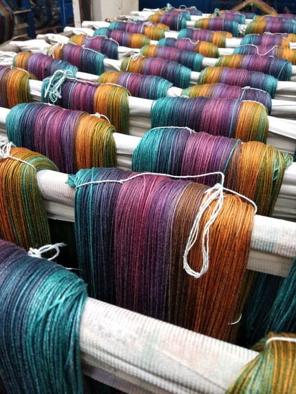 Dyeing is a matter of eye
