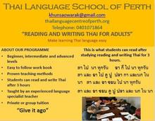Reading & Writing Thai