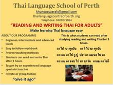 Reading & Writing Thai at TLSOP
