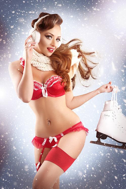 Christmas Tabby