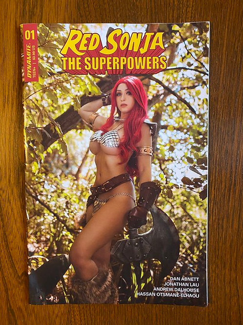 Red Sonja: The Superpowers #1